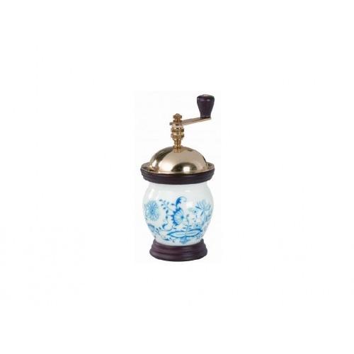 kávomlýnek 1937 BUCLÁK cibulový vzor 21,5cm porcelán