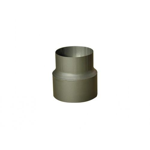 redukce trubková 125/120mm (d.160mm) t.1,5mm ČER