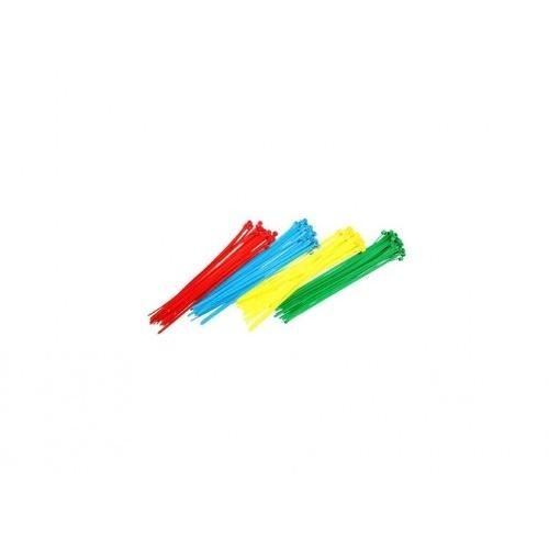 páska vázací 200x3,6mm mix barev (100ks)