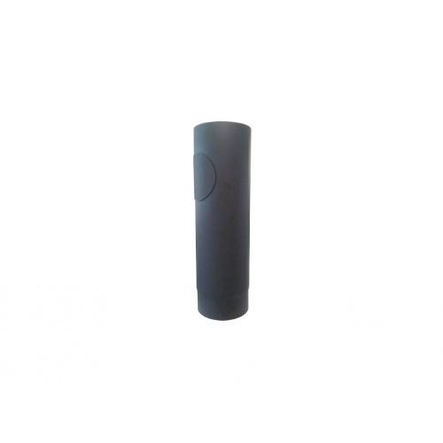roura kouřová s otv.130mm/ 500 t.1,5mm ČER
