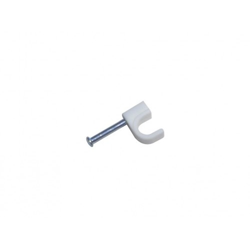 příchytka kabel.kruh. 5mm BÍ (40ks) blistr 1454