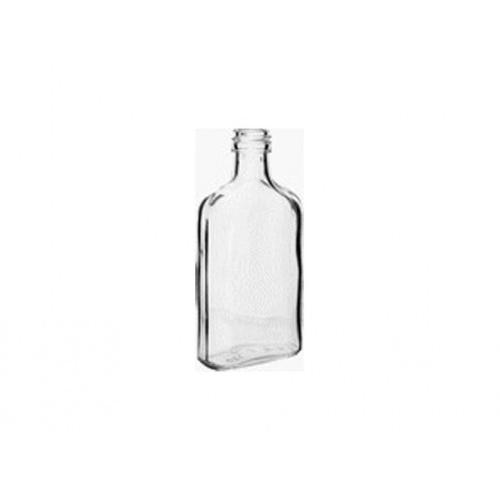 láhev placatka 200ml skleněná