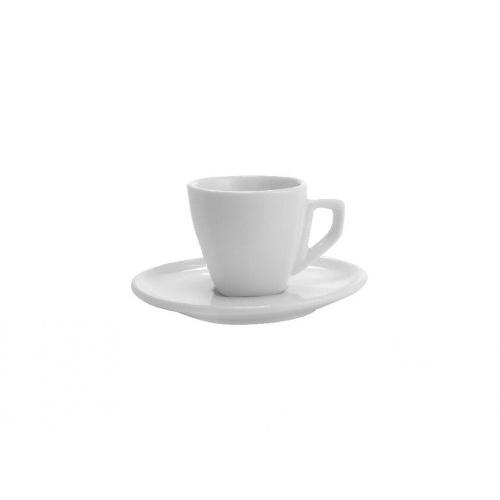 šálek + podšálek 120ml square ALBA BÍ porcelánový