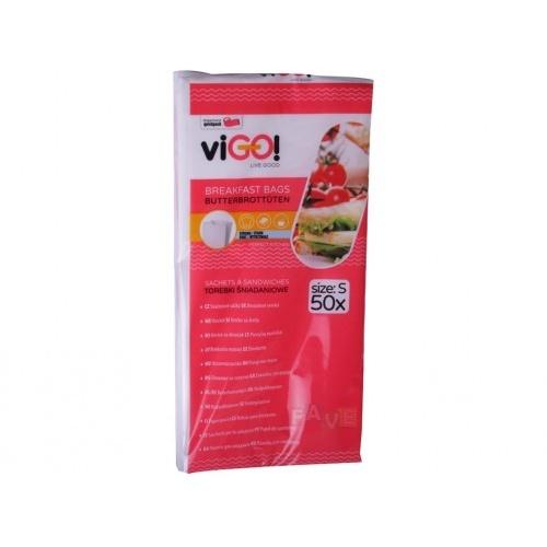 sáček svačinový papírový 21x10cm (50ks)