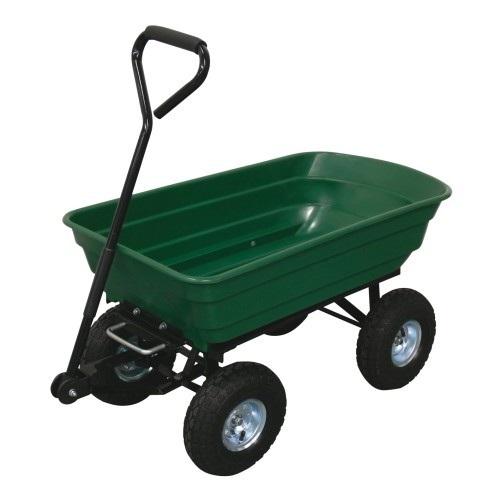 vozík zahradní sklápěcí 125l, korba 106x58x27cm