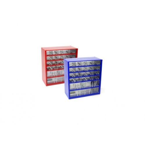 skříňka 3 velikosti 20m,2s,1v 6731  30,5x33cm kov.