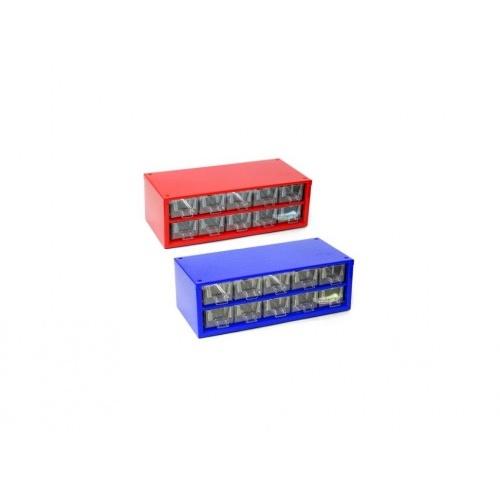skříňka 1 velikost 10m 6737  30,5x10cm kov.