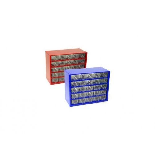 skříňka 1 velikost 25m 6742  30,5x24cm kov.