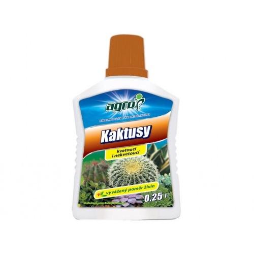 hnojivo AGRO kapalné pro kaktusy 0,25l