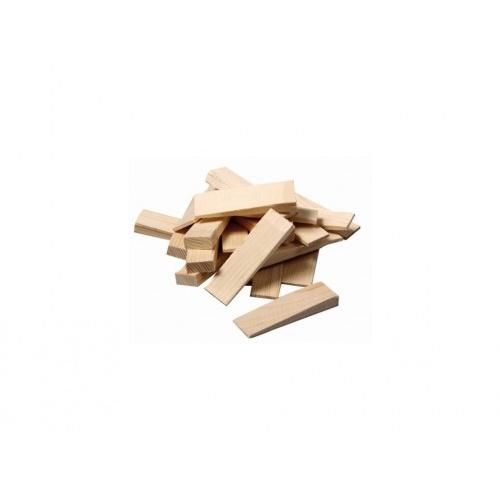 klínek montážní dřev. 55x20x6-1mm (20ks)