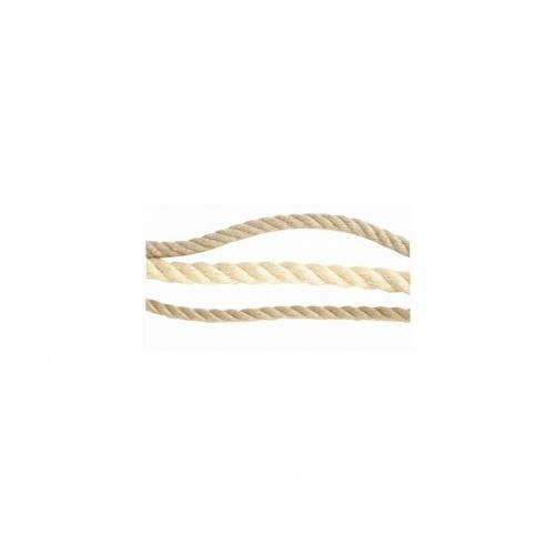 lano přírodní 30mm stáčené s PP    (20m)