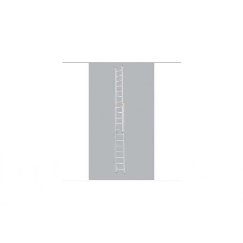 žebřík Al vys.2d.20př.10,62m 8220 FORTE