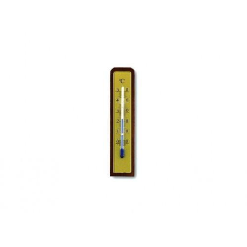 teploměr pokojový 13cm dřev.+ kov.12.1009