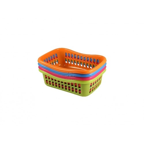 košík TIN 28x20x9,5cm PH mix barev   (střední)