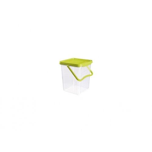 box s odkl. víkem 6,5l, 24,6x23,9x18,7cm PH TRA/ZE