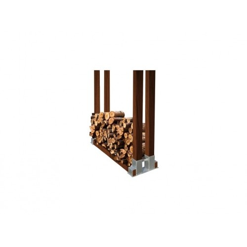 stojan na palivové dřevo 340x150mm Zn  (1ks)