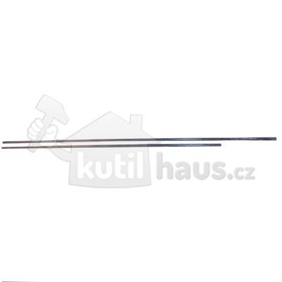 tyč záclonová Al 140cm