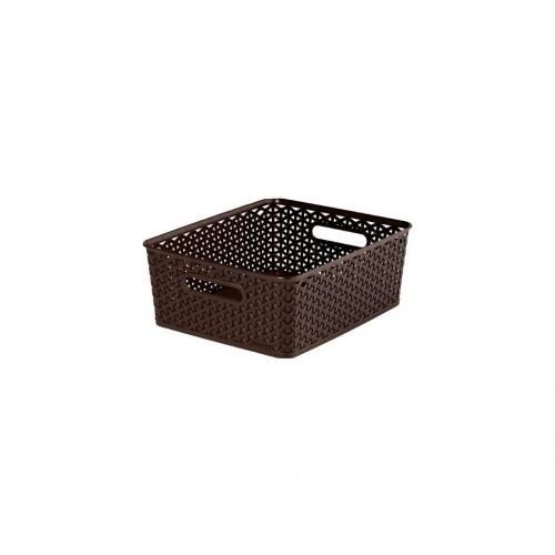 box úložný RATTAN 35x30x13cm (M),