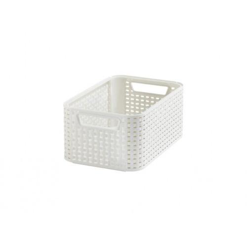 box úložný RATTAN 28,5x19x13cm (S), STYLE2, PH KRÉM