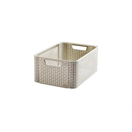box úložný RATTAN 39x29x17cm (M), STYLE2, PH KRÉM
