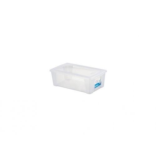 box úložný SCATOLA  5l, 32,5x19x11cm s víkem PH TRA