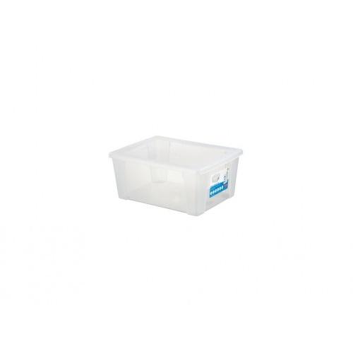 box úložný SCATOLA 15l, 39,5x29x17cm s víkem PH TRA mix barev