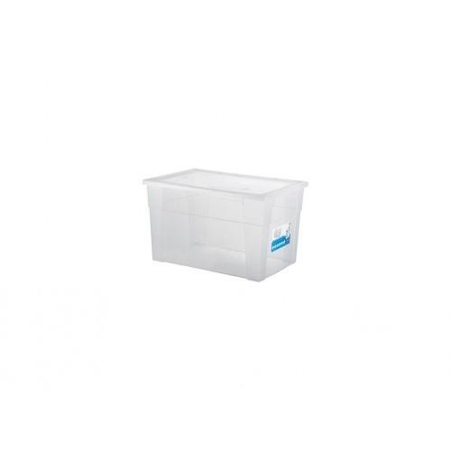 box úložný SCATOLA 62l, 60x40x35cm s víkem PH TRA mix
