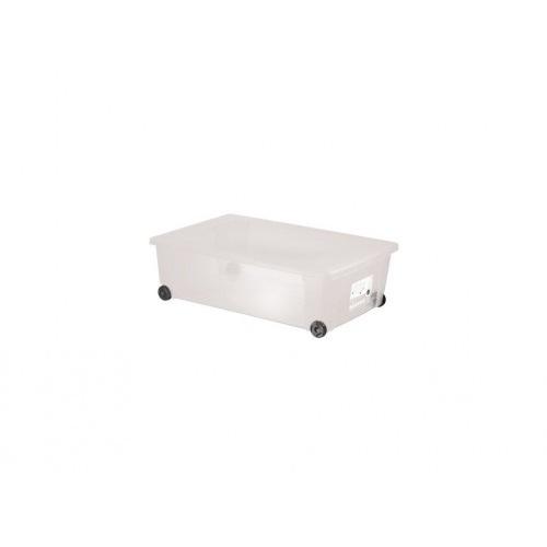 box úložný SCATOLA 30l, 59x39x18,5cm na kolečkách s víkem PH TRA