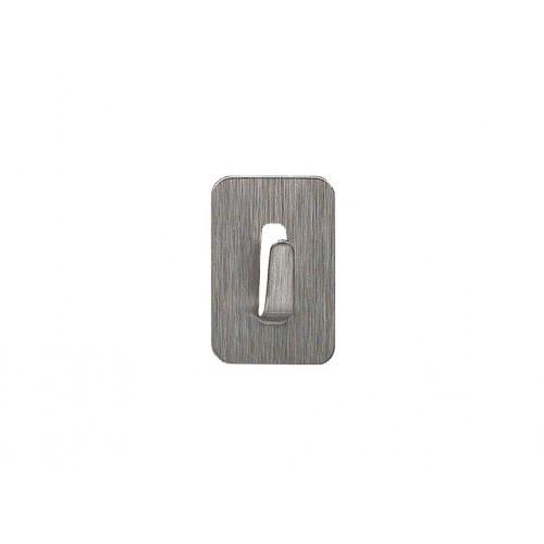 háček samolep.obdél.2,5x3,5cm nerez (4ks)