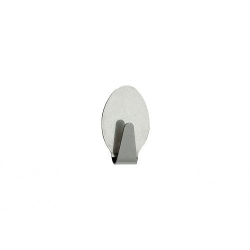 háček samolep.ovál.2,6x4,3cm nerez (2ks)