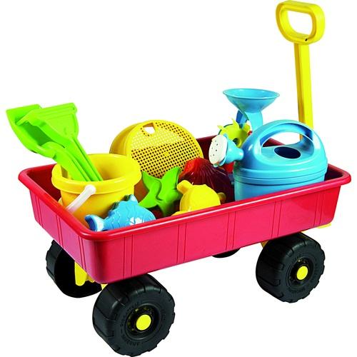 ALDOTRADE Vozík zahradní dětský s příslušenstvím