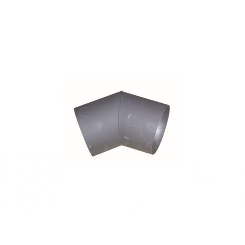 koleno kouřové 125mm/45st.t.1,5mm ČER