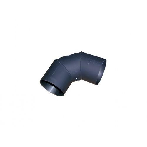 koleno kouřové s otv.125mm/90st.t.1,5mm ČER