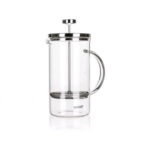 konvice na kávu CONNIE 1l sklo+nerez