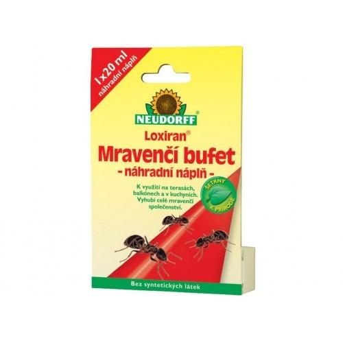 přípravek ND Loxiran mravenčí bufet - náhradní náplň