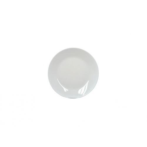 talíř mělký skleněný ZELIE 25cm BÍ