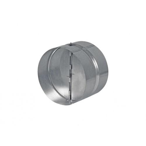 klapka zpětná ZKK 125mm kov.