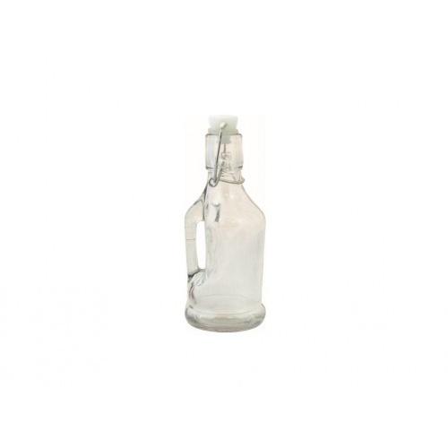 láhev s pákovým uzávěrem  350ml skleněná
