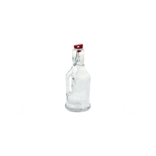 láhev s pákovým uzávěrem  190ml skleněná
