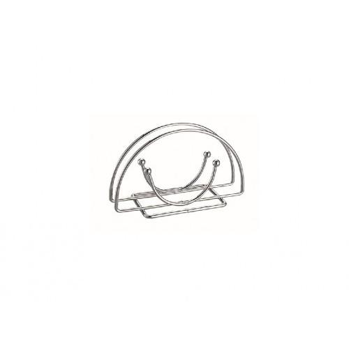 stojánek na ubrousky 14x5x10cm Cr