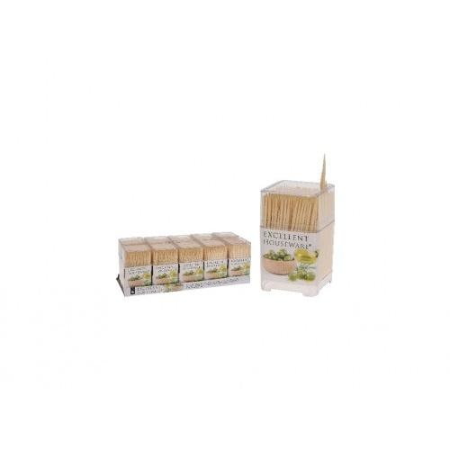 párátka kulatá oboustr.bambus (450ks) + PH box čtverc.