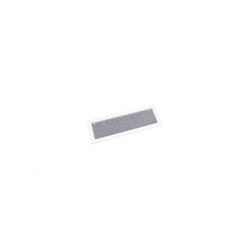 mřížka krb.rámeček+síťovina 170x490mm BÍ lak.