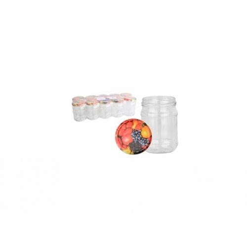 sklenice zavařovací  250ml TWIST 66 + víčka OVOCE (10ks)