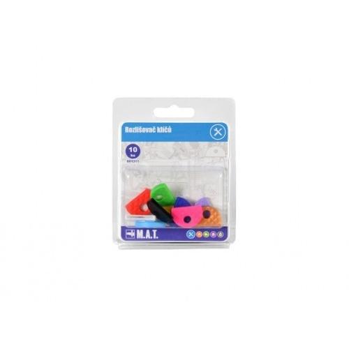 rozlišovač klíčů PH mix barev (10ks)