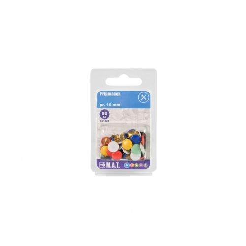 připínáček  pr.10mm mix barev (50ks)