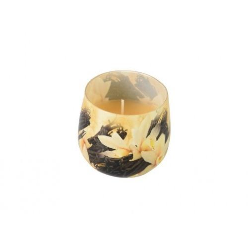 svíčka vonná sklo VANILKA 100g (hoří 20hod)