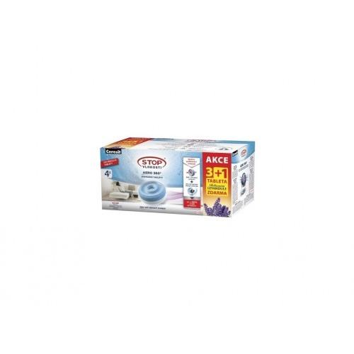 náplň do pohlcovače vlhkosti CSV-AERO 360, 4x450g tableta, levandule