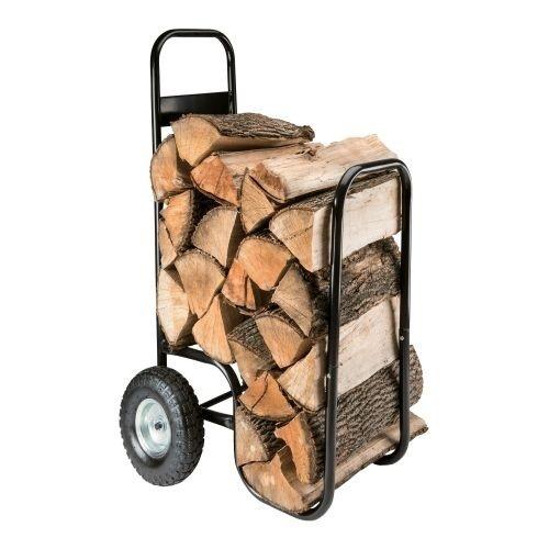 vozík na palivové dřevo 52x57x107/73cm, nosnost 80kg