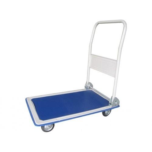 vozík plošinový 730x475x820mm, kola 100mm plná, nosn.150kg