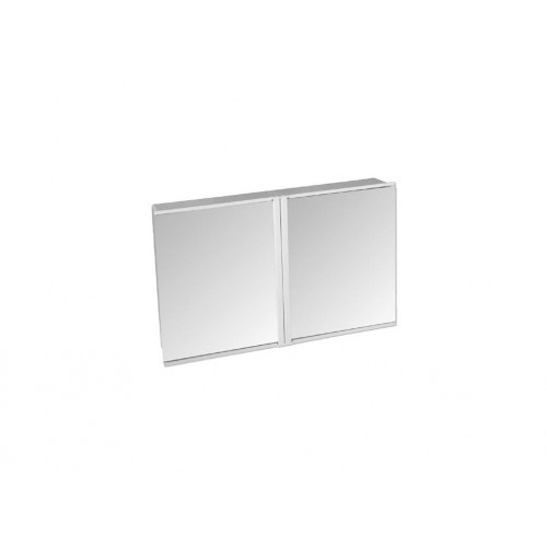skříňka koupelnová 2díl. TZS-2, 54,5x34,5x9cm, zrc.BÍ